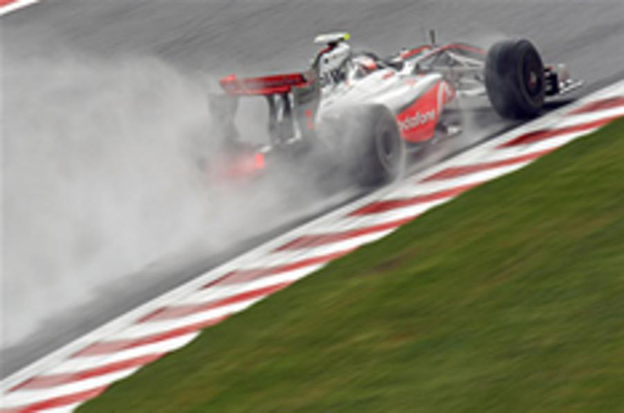 Hamilton fastest at Spa