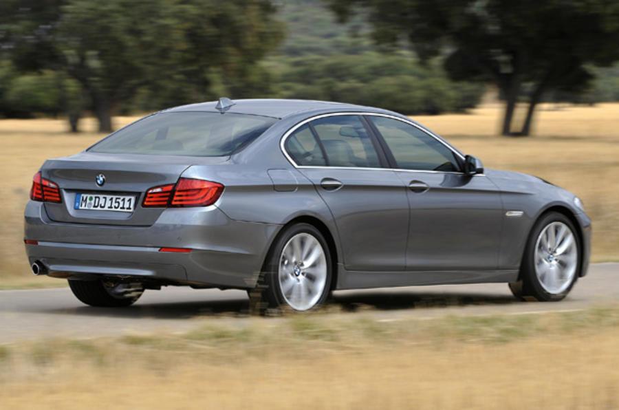 BMW 525d SE rear