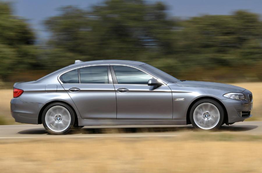 BMW 525d SE side profile