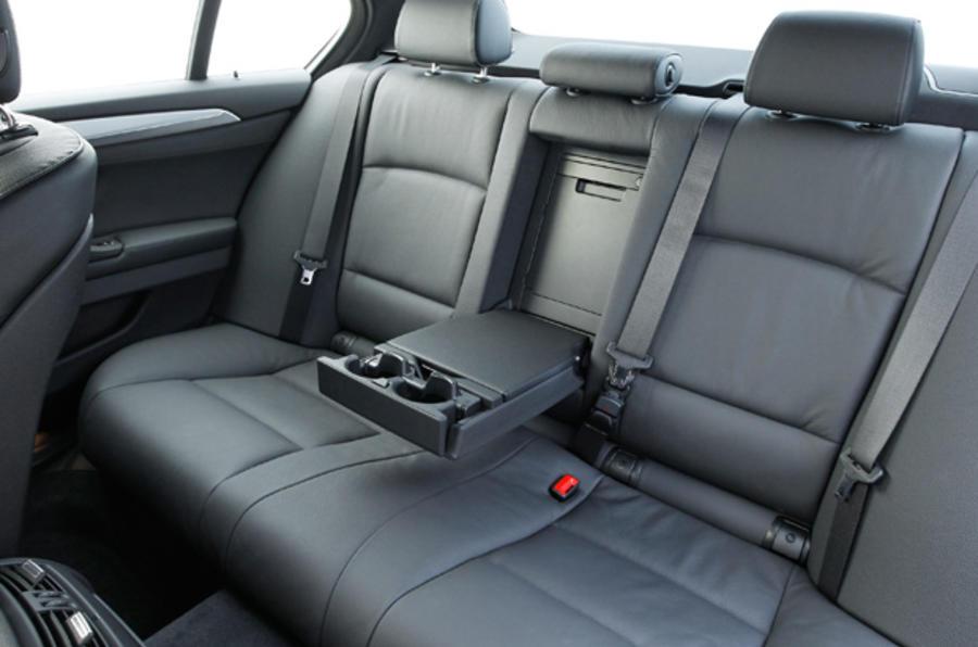 BMW 525d SE rear seats