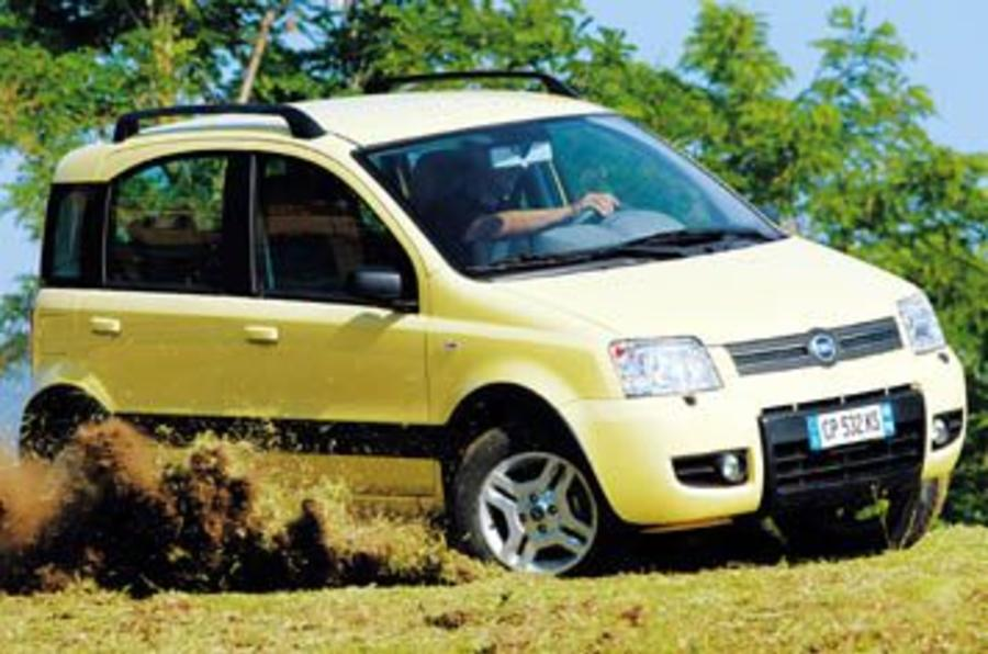 fiat panda 4x4 review autocar. Black Bedroom Furniture Sets. Home Design Ideas