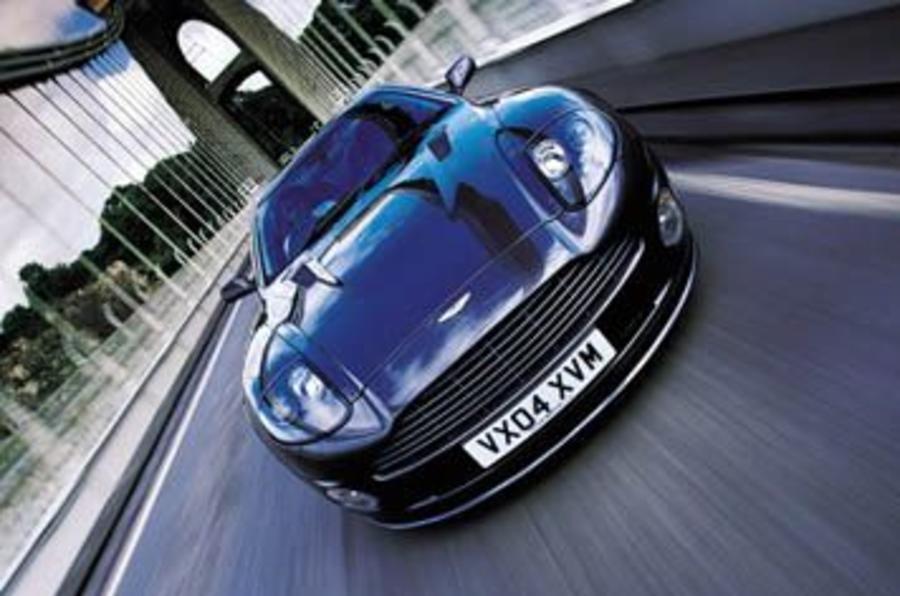 Aston Martin Vanquish S auto