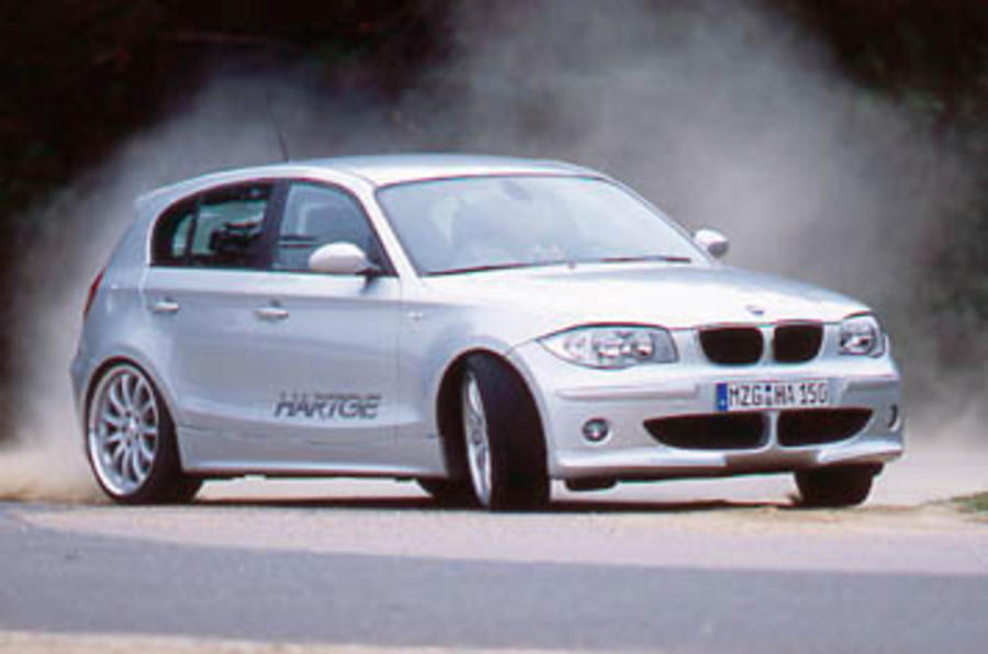BMW 1-series Hartge V8