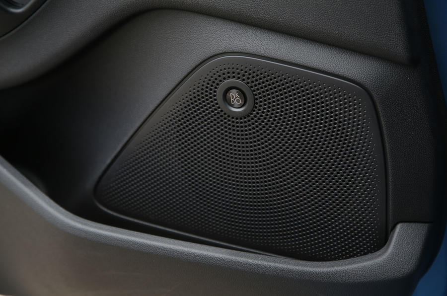 Ford Fiesta ST 2018 road test review door speakers