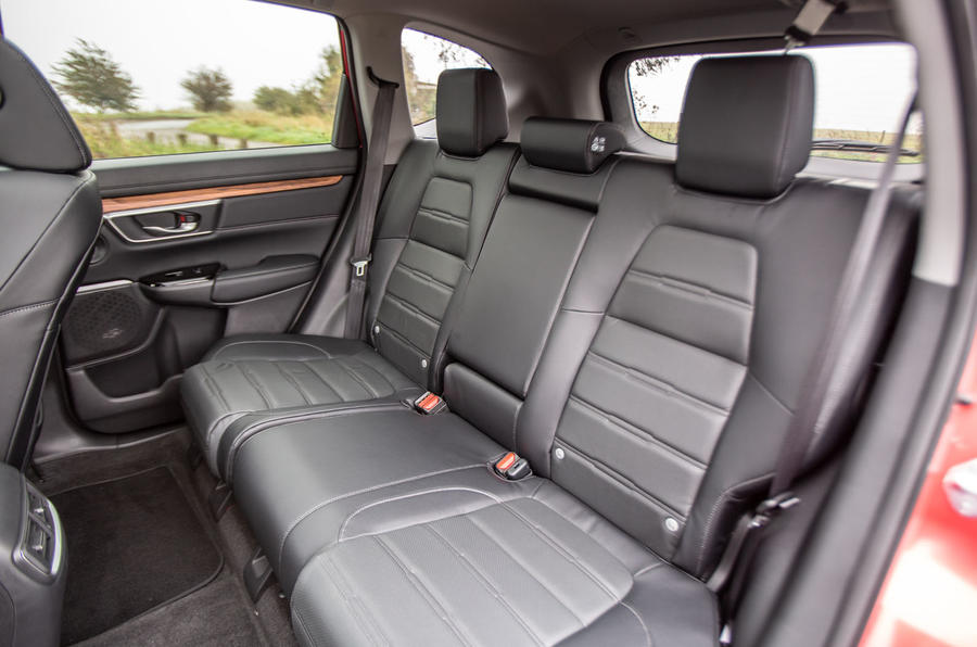 Honda CR-V 2018 road test review - rear seats