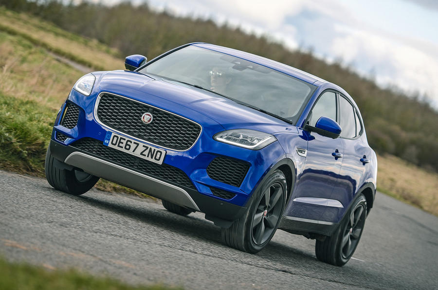 Jaguar E-Pace review cornering