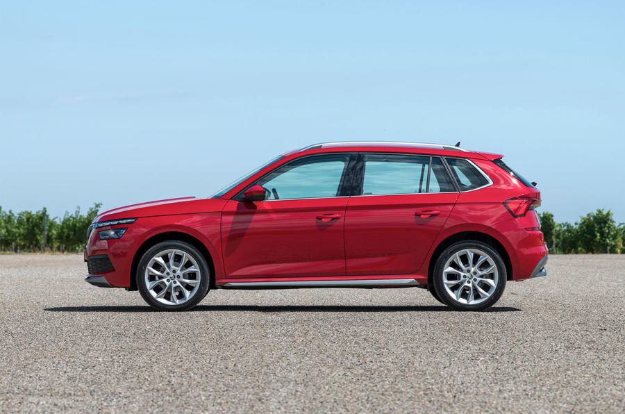 Skoda Kamiq 2019 road test review - static side