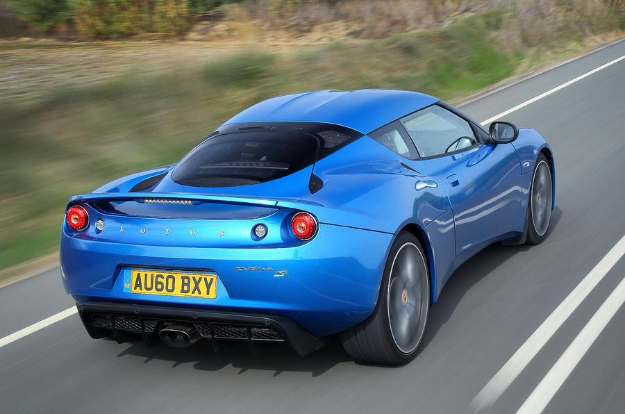 Lotus Evora S rear end