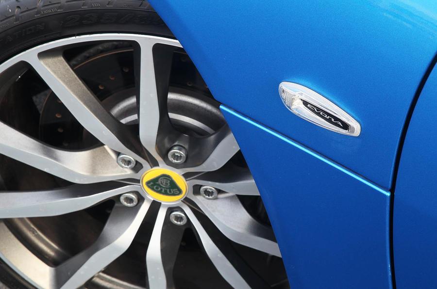 Lotus Evora S alloy wheels