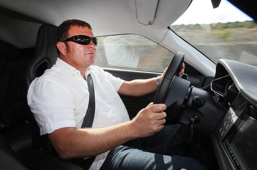 Driving the Lotus Evora S