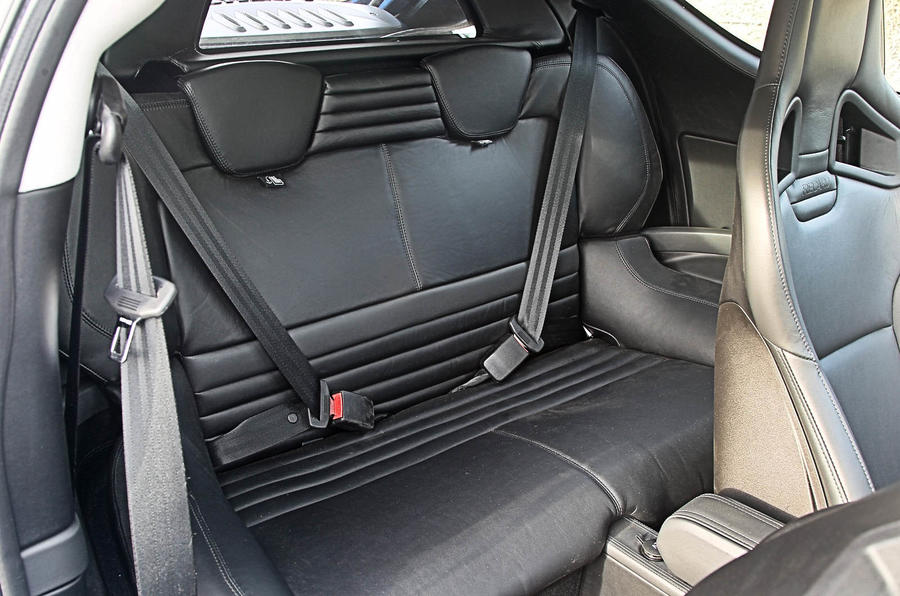 Lotus Evora S rear seats