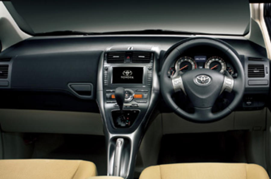 2010 Toyota Corolla S >> Toyota Blade Master-G first drive