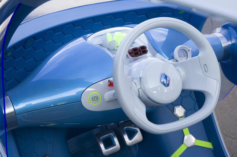 Renault Twizy Z.E. Concept interior