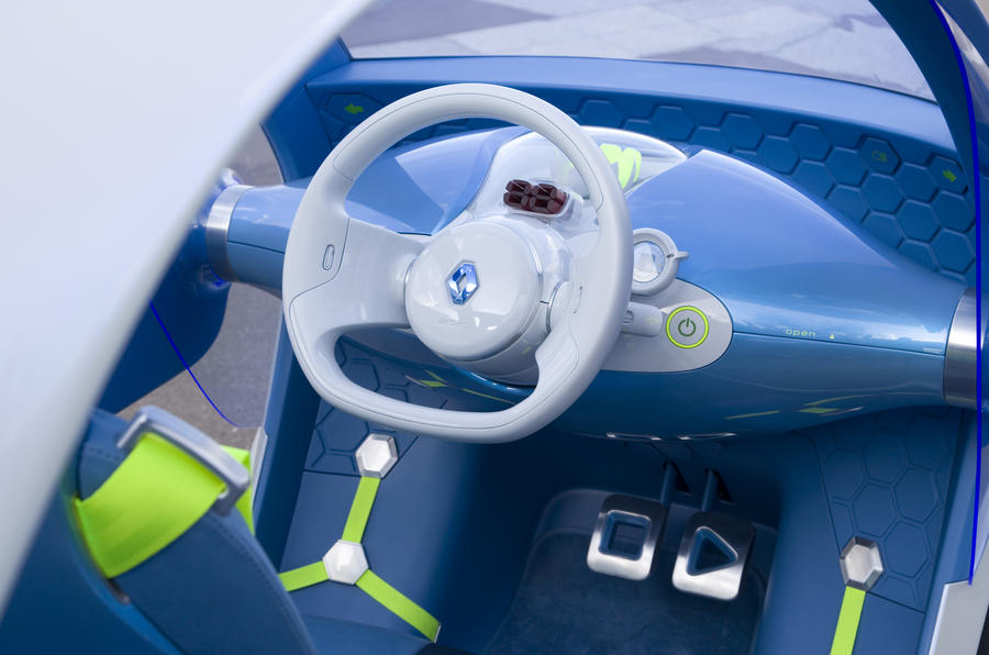 Renault Twizy Z.E. Concept dashboard