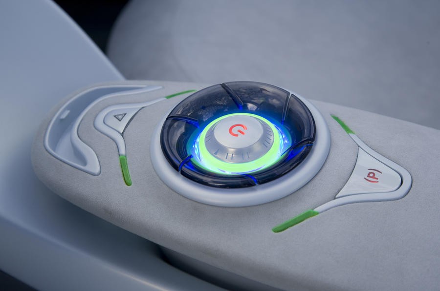 Renault Twizy Z.E. Concept ignition button