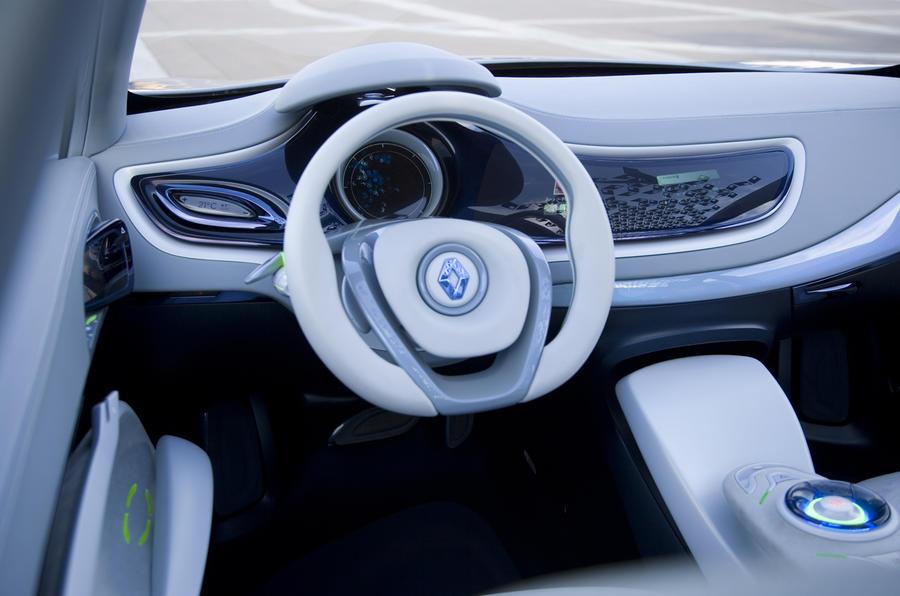 Renault Fluence Z.E. Concept dashboard