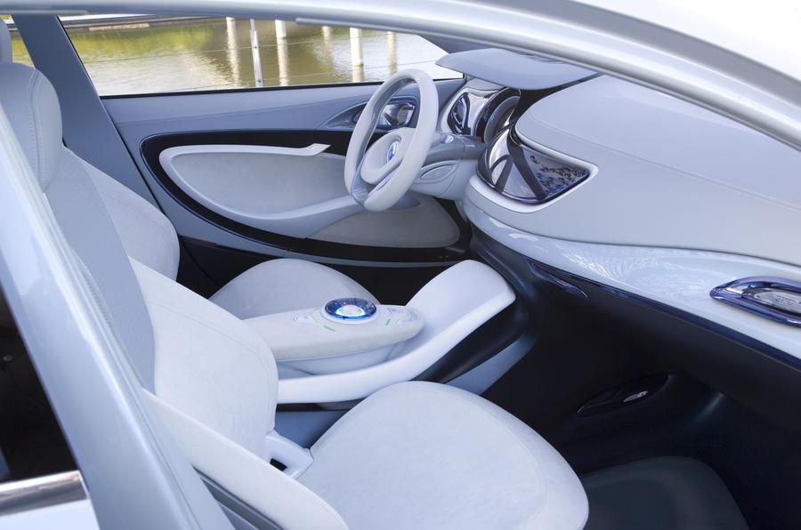 Renault Fluence Z.E. Concept interior