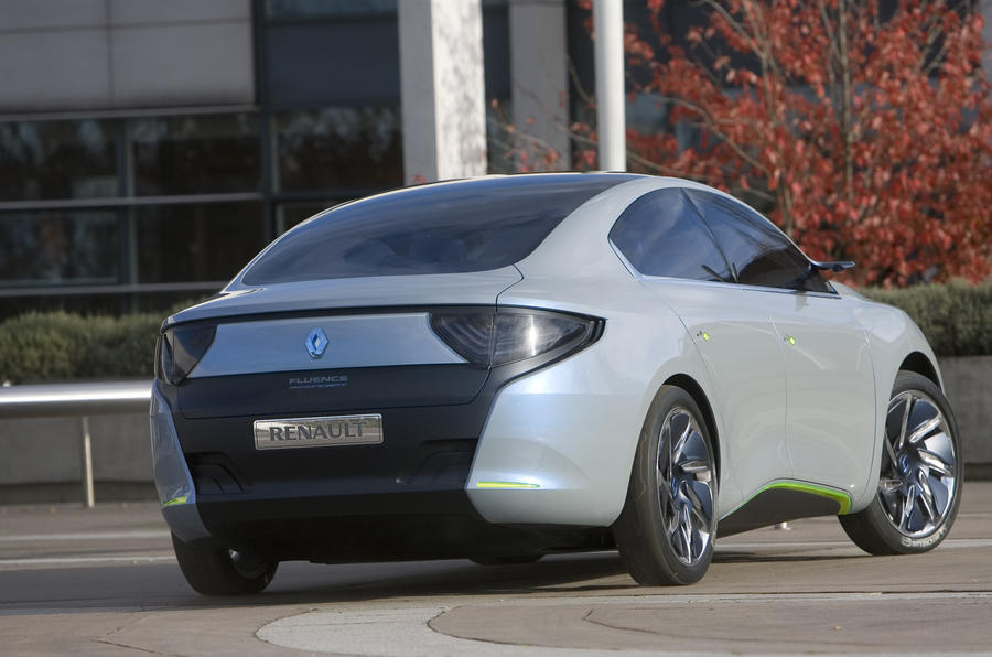 Renault Fluence Z.E. Concept rear quarter