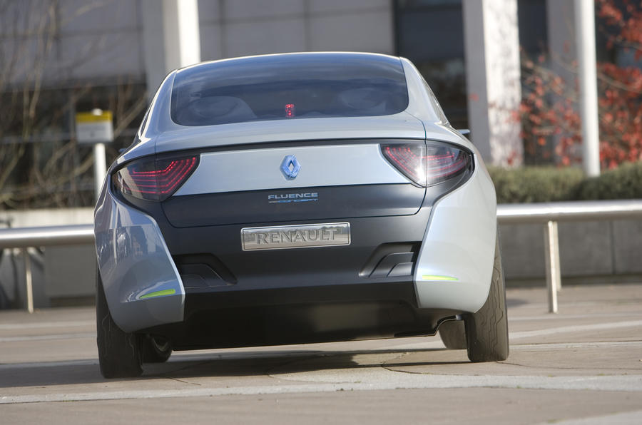 Renault Fluence Z.E. Concept rear end