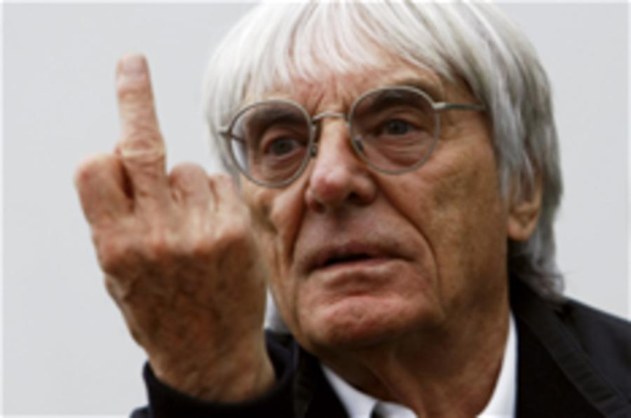 Ecclestone: Donington GP is over