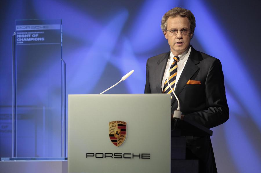Bentley's new boss revealed