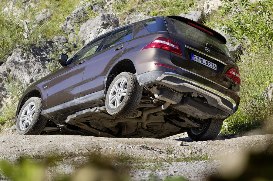 Mercedes ML350 Bluetec