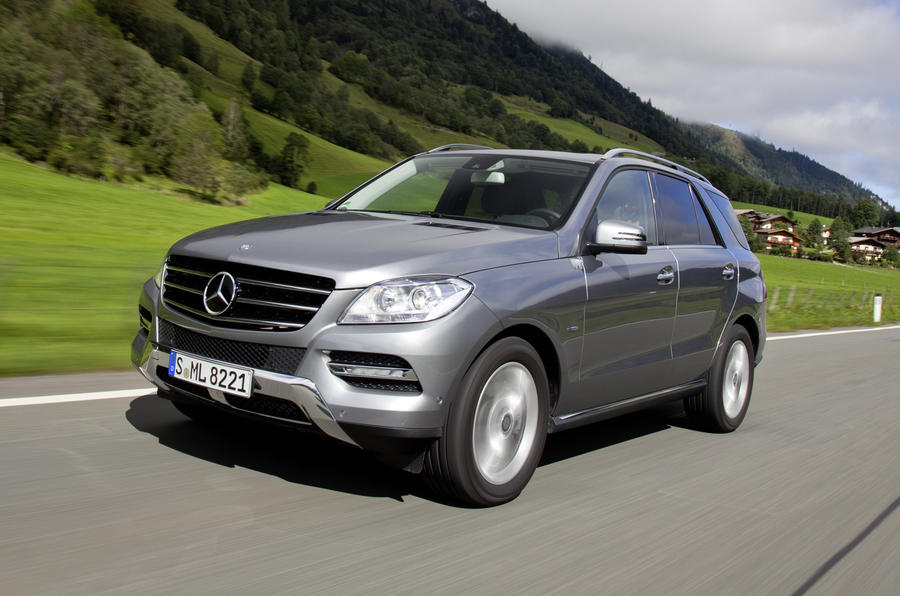 2015 Mercedes Suv >> Mercedes-Benz ML 250 Bluetec review | Autocar