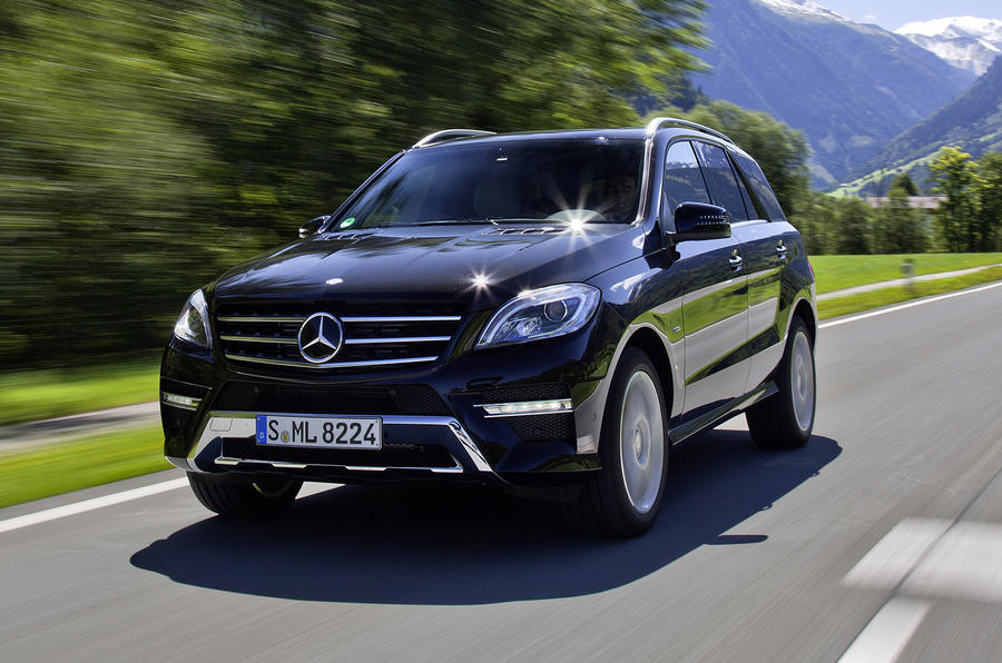mercedes benz ml 350 bluetec review autocar. Black Bedroom Furniture Sets. Home Design Ideas