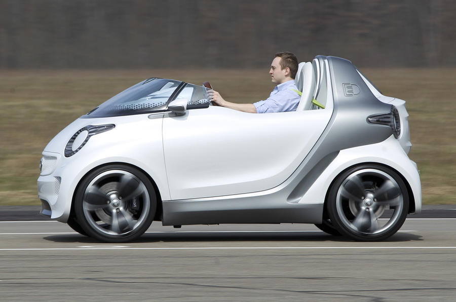 Smart Forspeed concept side profile