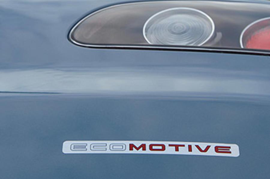 Seat Ibiza Ecomotive badging