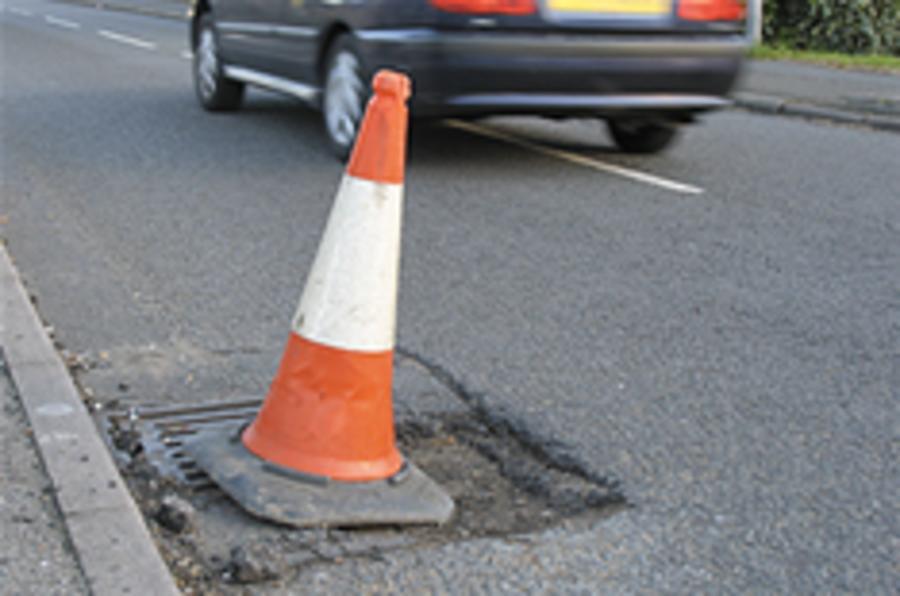 "Survey: UK roads in ""crisis"""