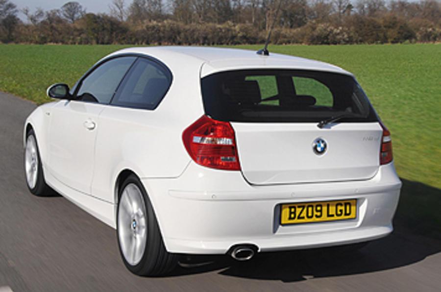 BMW 116d rear