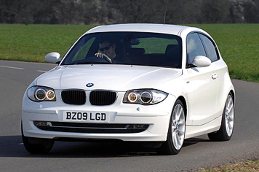 BMW 116d cornering