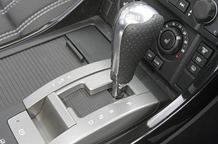 Range Rover Sport Kahn Cosworth automatic gearbox