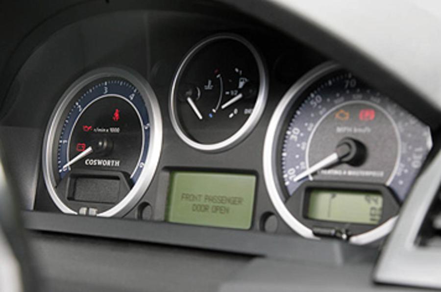 Range Rover Sport Kahn Cosworth instrument cluster