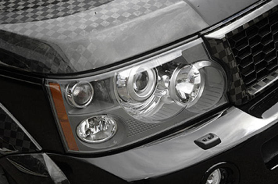 Range Rover Sport Kahn Cosworth headlights