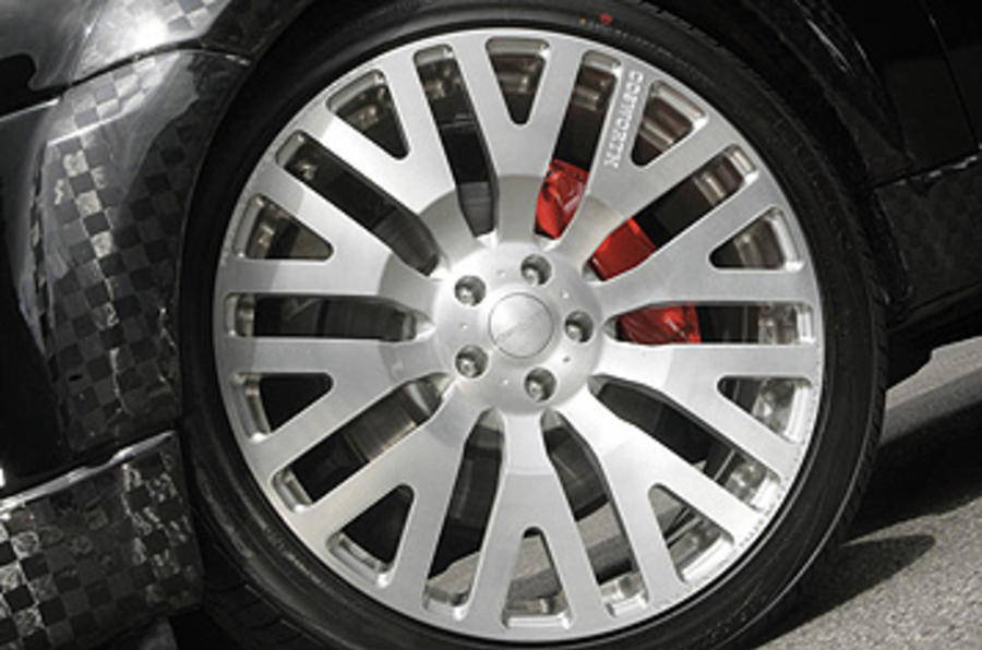 Range Rover Sport Kahn Cosworth alloy wheels