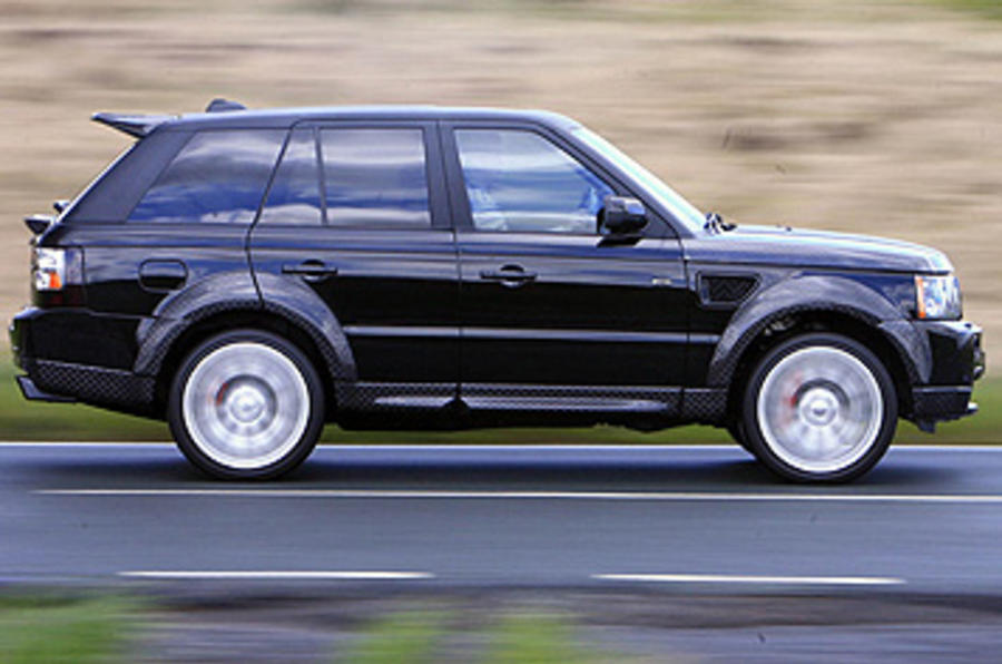 Range Rover Sport Kahn Cosworth side profile