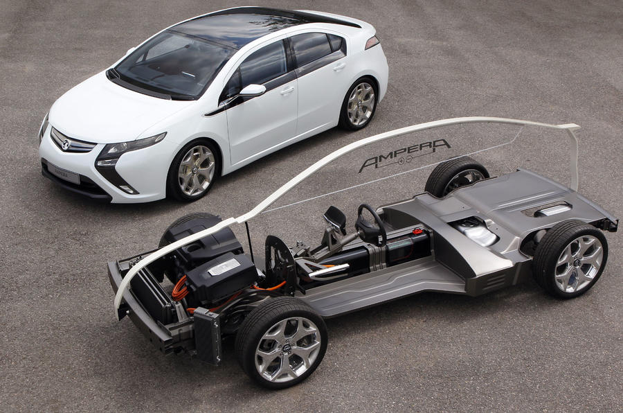 Vauxhall Ampera electric powertrain