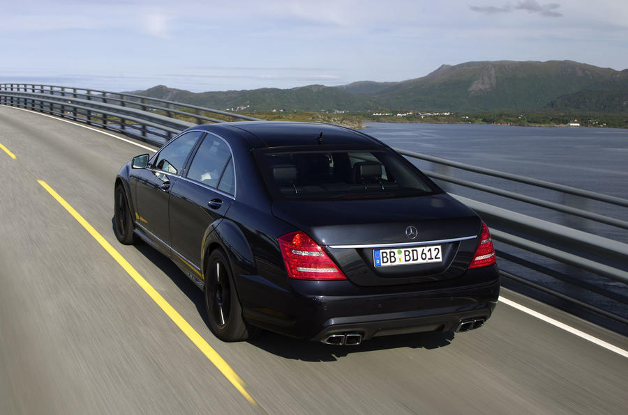 Mercedes-AMG S 63 rear