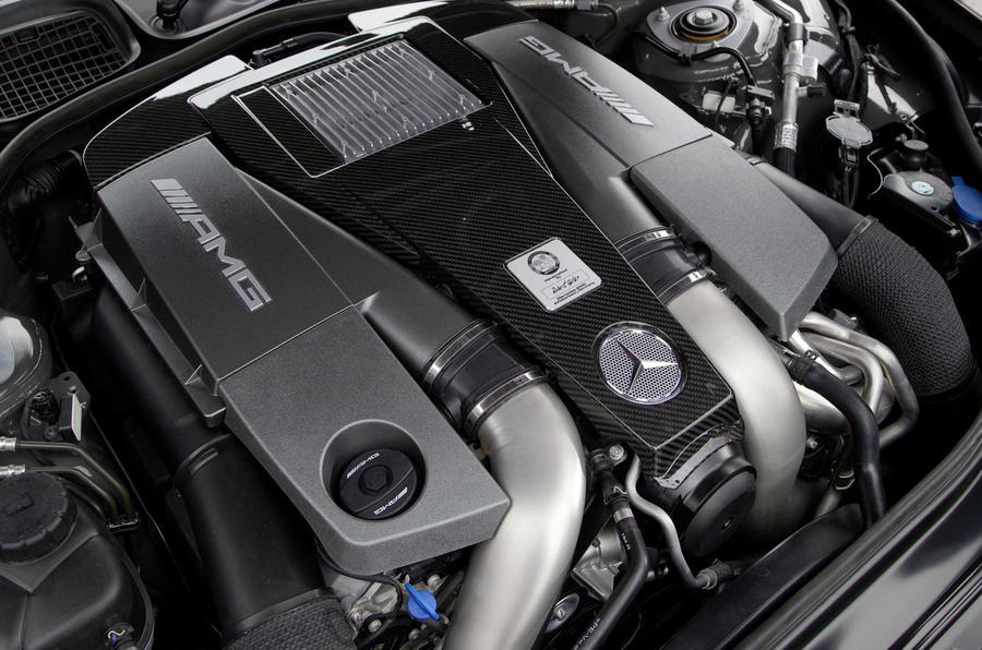 6.2-litre V8 Mercede-AMG S 63 engine