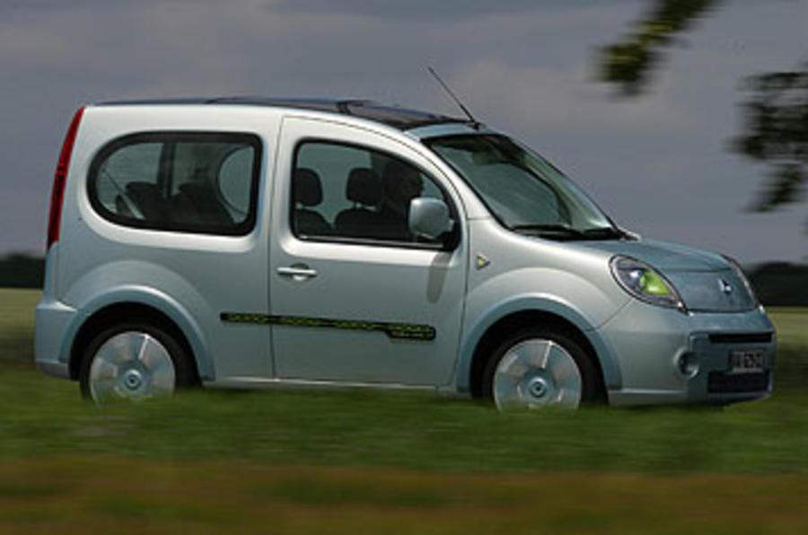 Renault Kangoo Be Bop Z.E. 44kW side profile