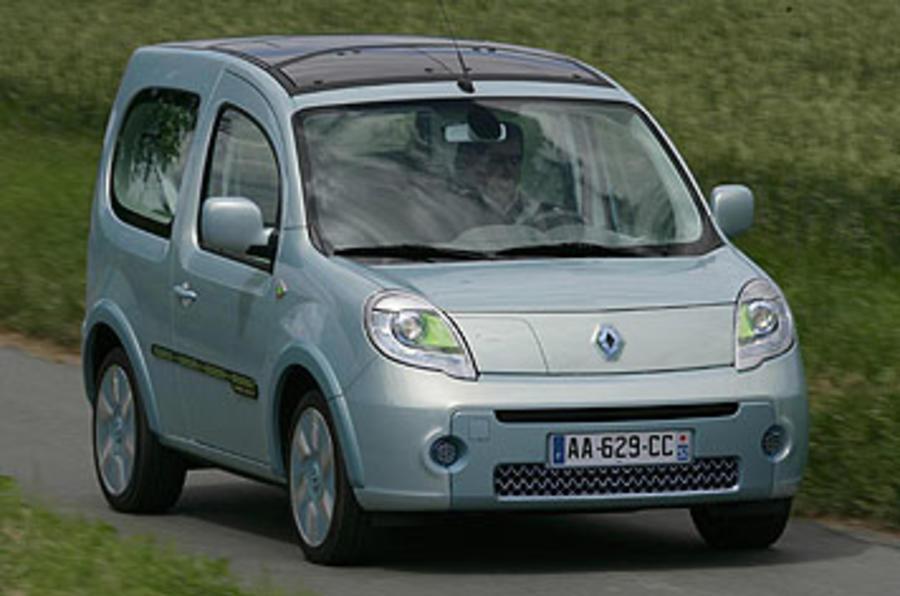 Renault Kangoo Be Bop Z.E. 44kW front quarter