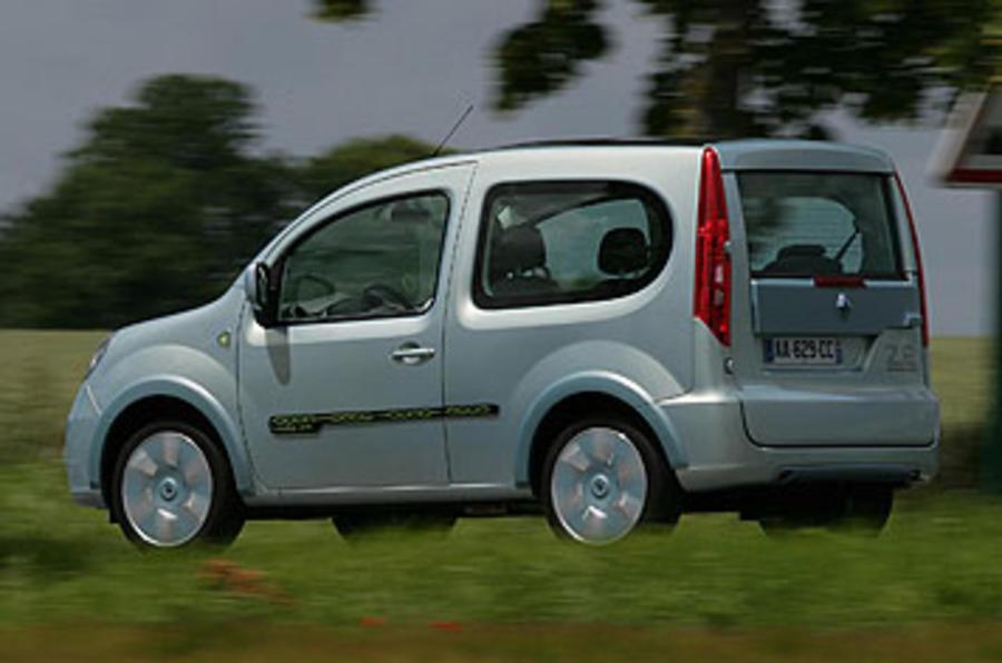 Renault Kangoo Be Bop Z.E. 44kW rear quarter