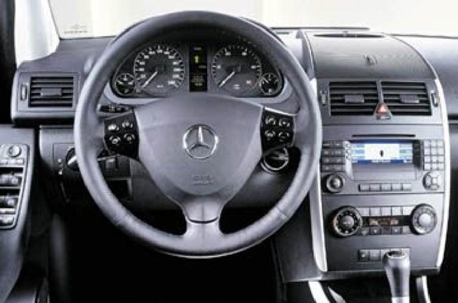 mercedes a 180 cdi 2004 review autocar. Black Bedroom Furniture Sets. Home Design Ideas