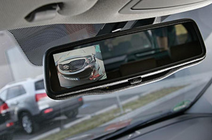 Kia Sorento rear-view camera