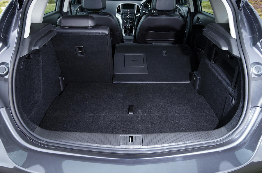 Vauxhall Astra seating flexibility