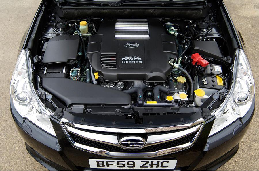 2.0-litre Subaru Legacy diesel engine