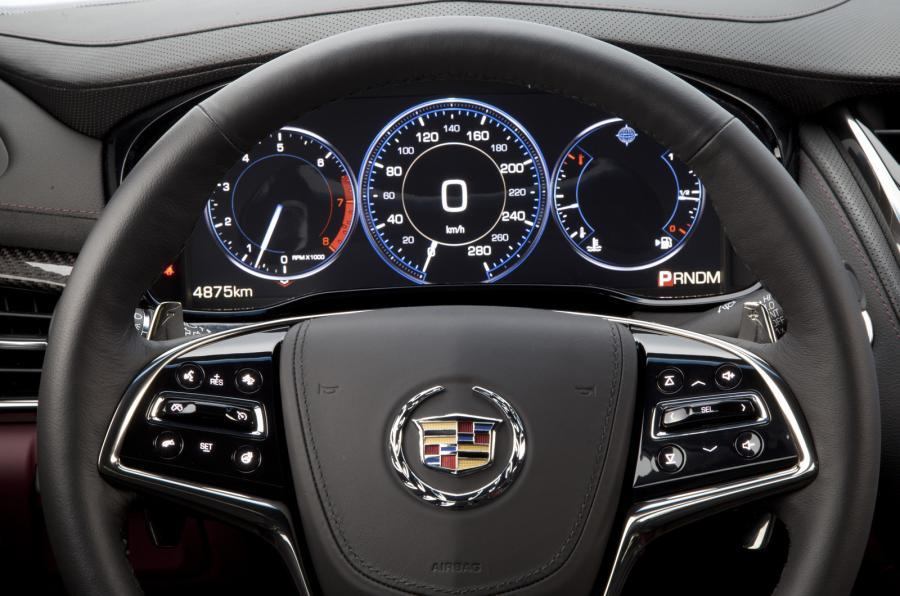 Cadillac CTS digital instrument cluster