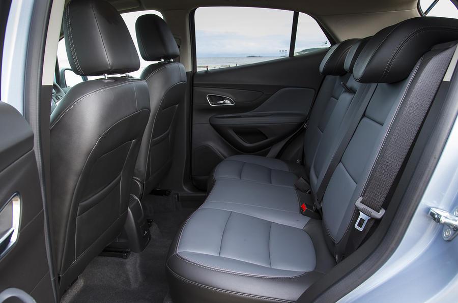 Vauxhall Mokka Tech Line rear seats